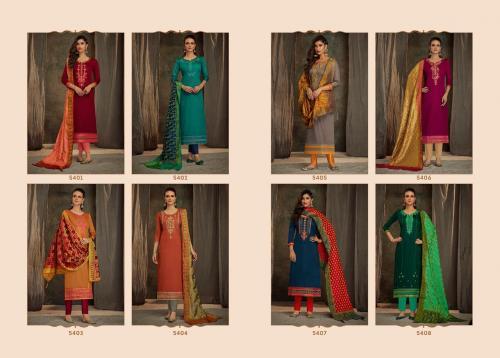 Kessi Fabrics Ashopalav 5401-5408 Price - 7192
