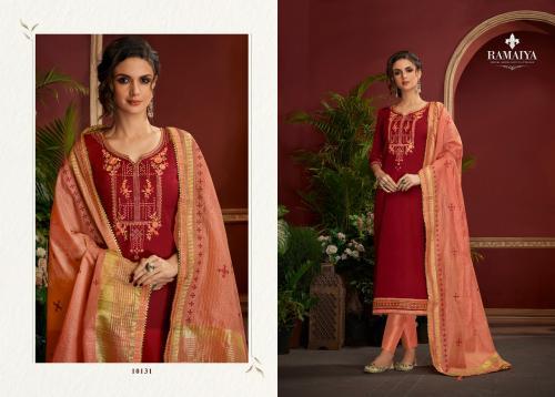 Kessi Fabrics Ramaiya Palkhi 10131-10138 Series