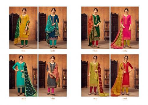 Kessi Fabrics Ashopalav 5921-5928 Price - 7592
