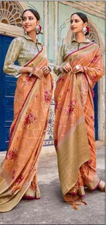 Lt Fabrics Musleen Silk 32010 Price - 1550