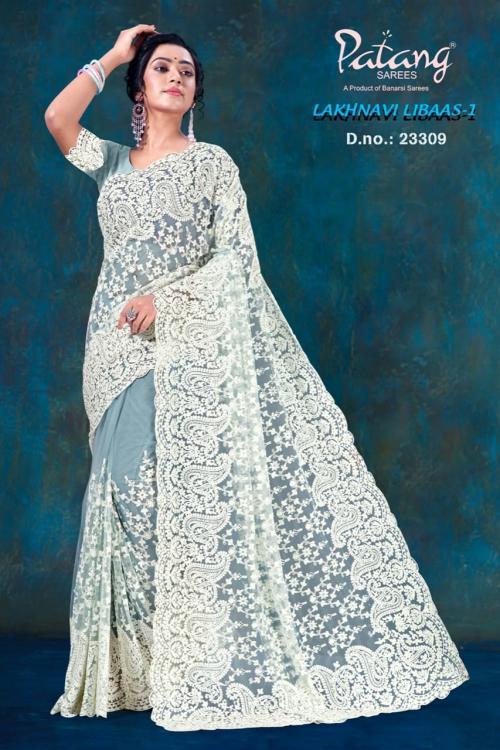 Patang Sarees Lakhnavi Libaas 23309 Price - 2395