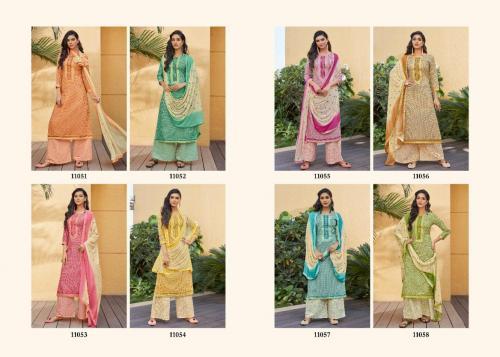 Kessi Fabrics Ramaiya Rose Gold 11051-11058 Price - 5592
