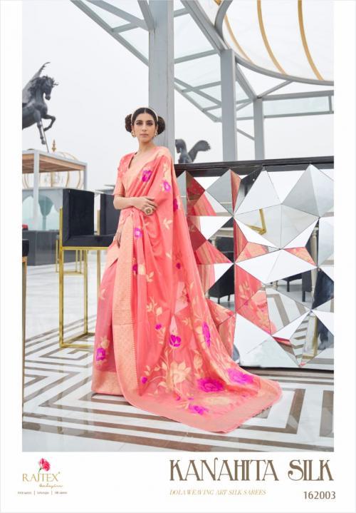 Rajtex Saree Kanahita Silk 162003 Price - 1560