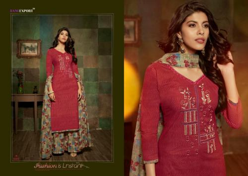 Rani Exports Kashida Kari 1003 Price - 695