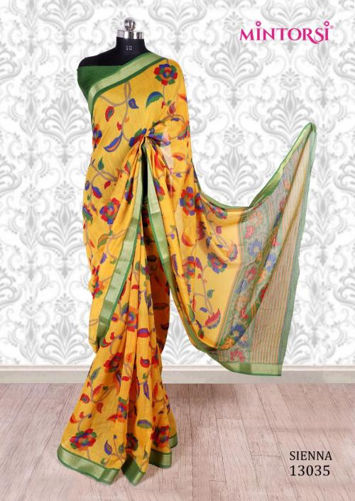 Mintorsi Saree Sienna 13035 Price - 670