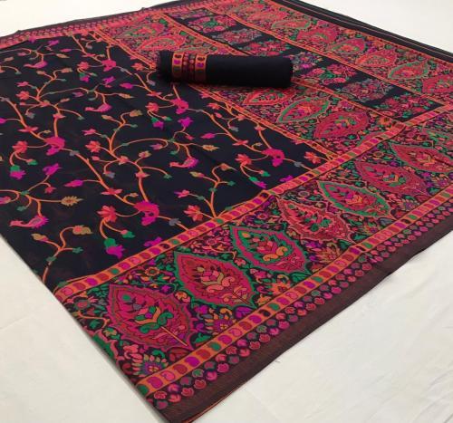 Rajtex Saree Khyber Silk 140002  Price - 2195