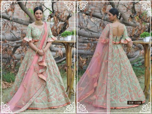 Peafowl Vol-76 Bridal Lehenga 1129 Price - 3533
