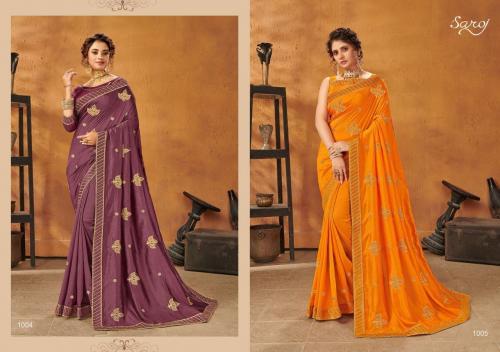 Saroj Textiles Sanam 1004-5 Price - 865