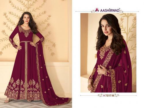 Aashirwad Creation Gulkand Pakhi 7217 B Master Colors Price - 1700