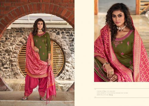 Kessi Fabrics Silk By Patiyala 4003 Price - 949