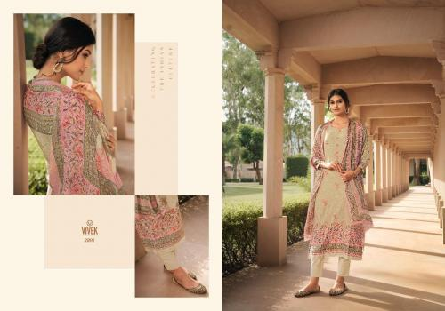 Vivek Fashion Parina Vol-9 2801-2807 Series
