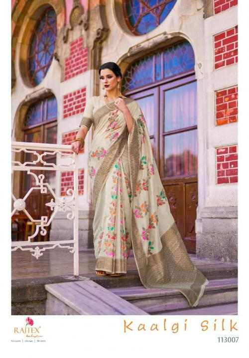 Rajtex Saree Kaalgi Silk 113007 Price - 1560