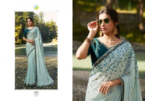 Vinay Fashion Kaseesh Sheesha Saffron 23191-23199 Series