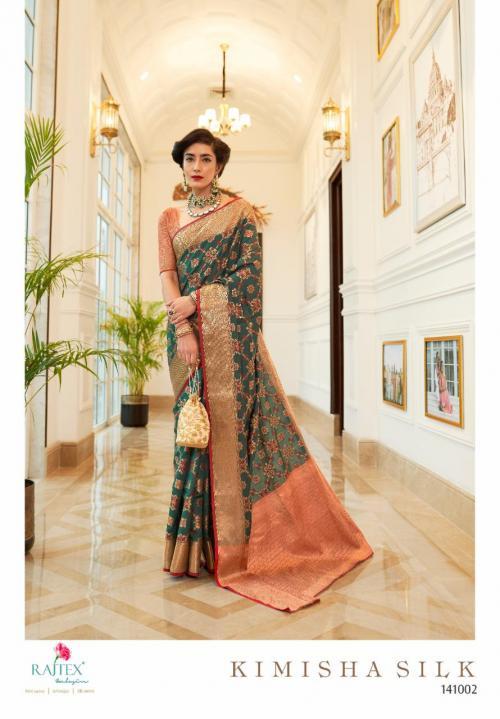 Rajtex Saree Kimisha Silk 141002 Price - 1195