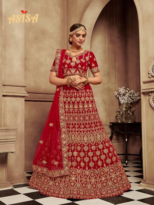 Asisa Bridal Lehenga 6004 Price - 6044