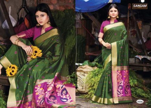 Sangam Prints Aaradhya Handloom 4006 Price - 1125