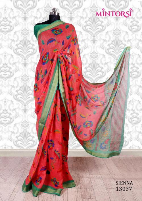 Mintorsi Saree Sienna 13037 Price - 670