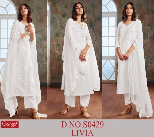 Ganga Livia 429 Colors  Price - 5070