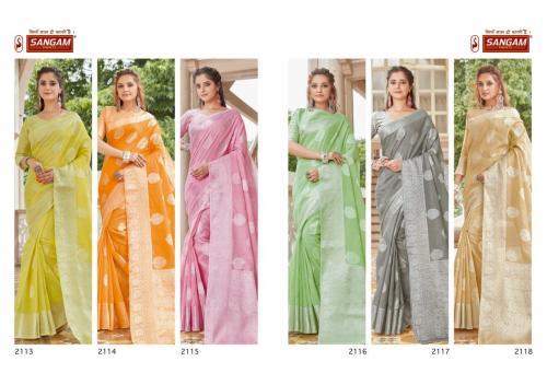 Sangam Prints Madhurama 2113-2118  Price - 8370