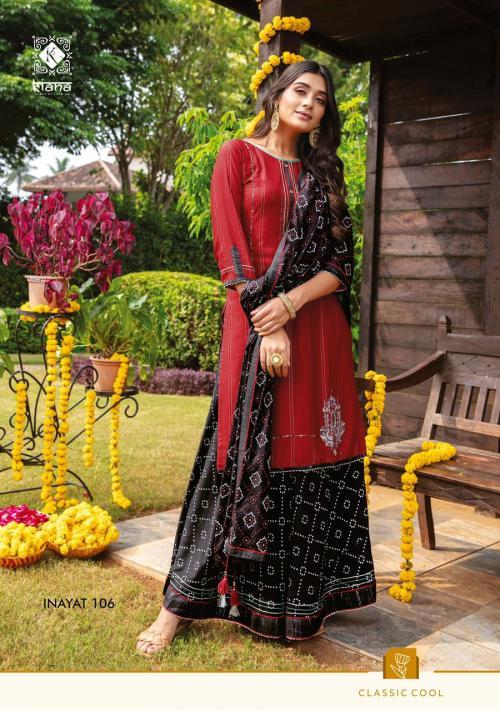 Kiana Fashion Inayat 106 Price - 1140