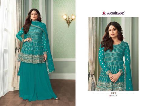 Aashirwad Creation Peplon 8412-B Price - 2495