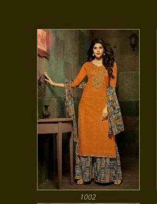 Rani Exports Kashida Kari 1002 Price - 695