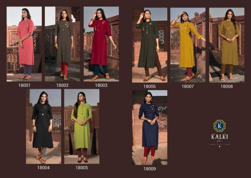 Kalki Fashion Pehchan 18001-18009 Price - 4311