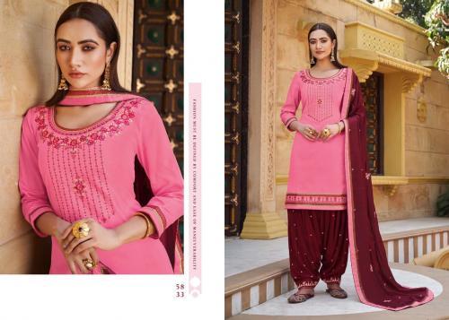 Kessi Fabrics Sitara By Patiyala House 5833 Price - 896