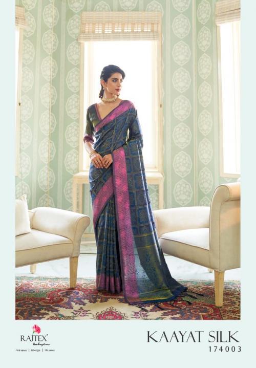 Rajtex Saree Kayaat Silk 174003 Price - 1695