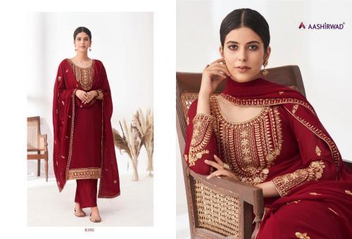 Aashirwad Creation Anita 8390-8395 Series