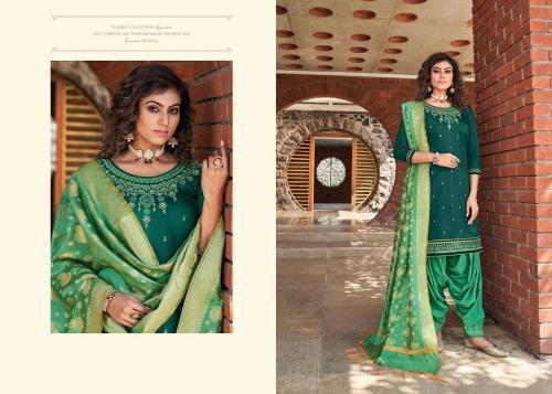 Kessi Fabrics Silk By Patiyala 4001 Price - 949