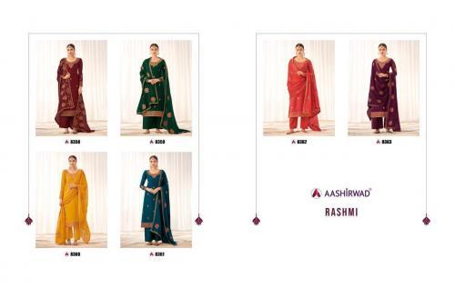 Aashirwad Creation Rashmi 8358-8363 Price - 11370