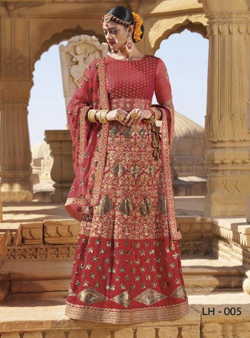 Jodha Wedding Lehengas LH-5 Price - 4369