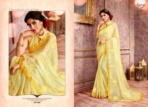 Saroj Julie Vol-6 wholesale saree catalog