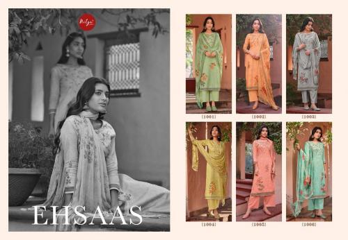Lt Nitya Fabrics Ehsaas 1001-1006 Price - 8550