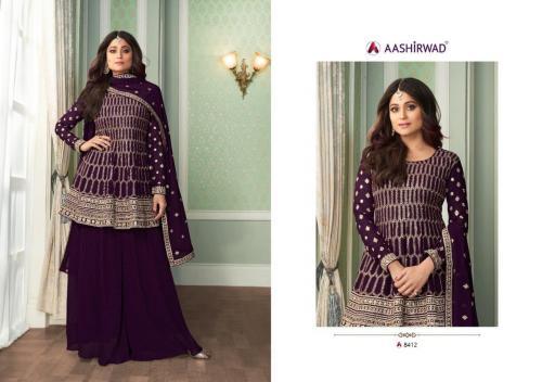 Aashirwad Creation Peplon 8412 Colors
