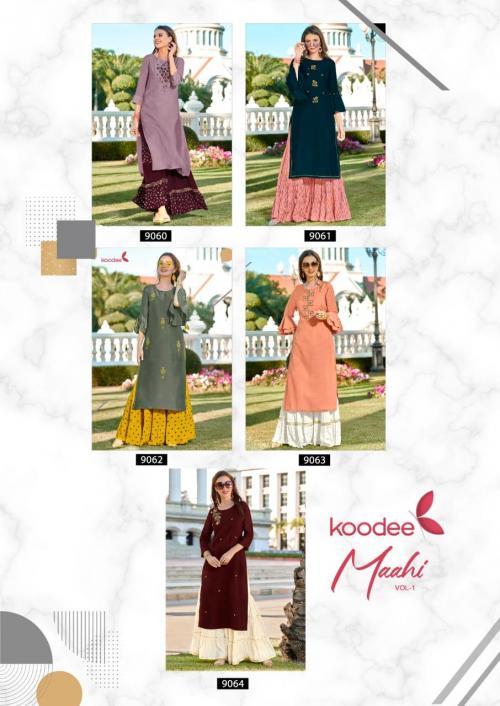 Koodee Mahi 9060-9064 Price - 4975