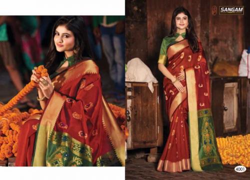 Sangam Prints Aaradhya Handloom 4001 Price - 1125