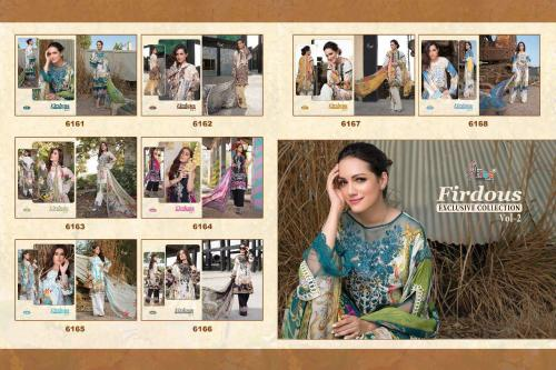 Shree Fabs Firdous Exclusive Collection 6161-6168