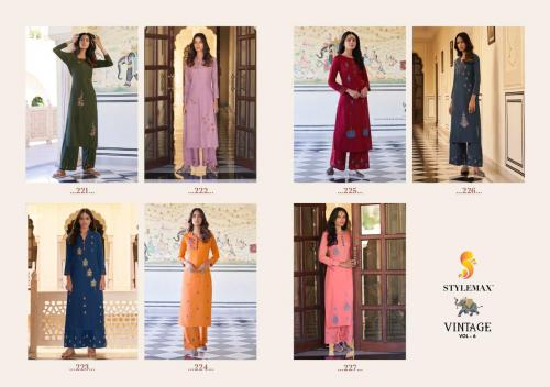Stylemax Vintage 221-227 Price - 6643