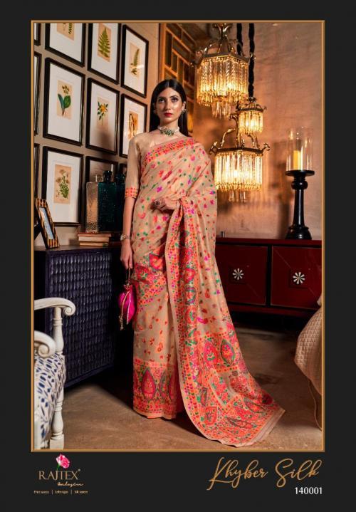 Rajtex Saree Khyber Silk 140001  Price - 2195