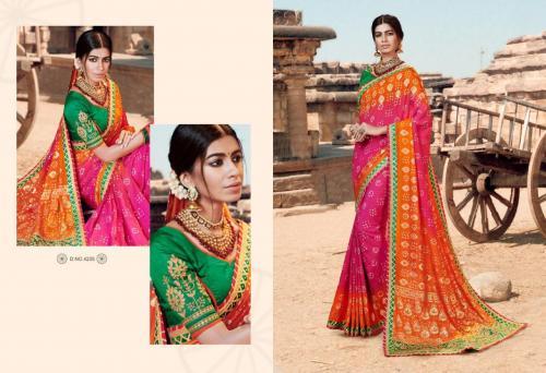 Kessi Fabrics Bandhej 4235 Price - 1199