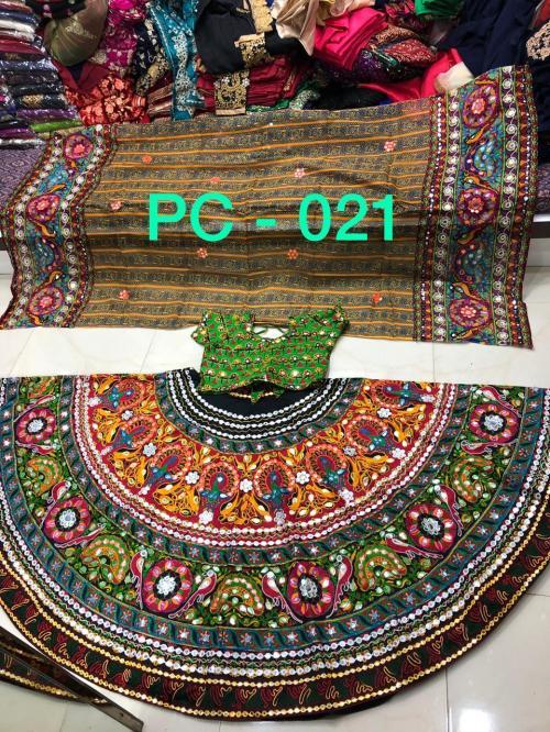 Designer Navratri Special Lehenga Choli PC 021 Price - 2495