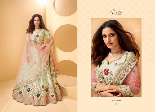 Alizeh Lehengas Sangeet 1023 Price - 5595