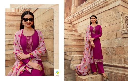 Vinay Fashion Silkina Royal Crepe 13562 Price - 1090