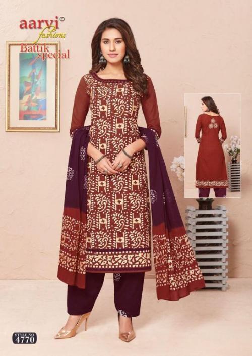 Aarvi Batik Special 4771 Price - 525