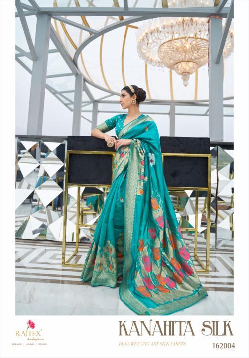 Rajtex Saree Kanahita Silk 162004 Price - 1560