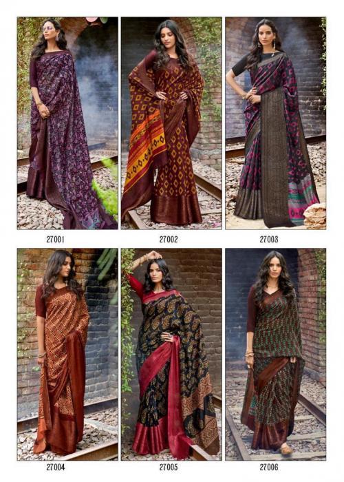 Lt Fabrics Prerna 27001-27010 Price - 6950