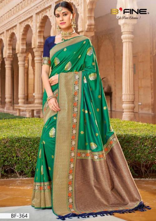 B Fine Saree Nazar 364 Price - 2445