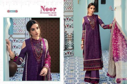 Shree Fab Noor By Saadia Asad 1615 Price - 1249